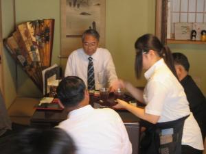 20170822 タイ王国メーサイ市長及び幹部職員 昼食会
