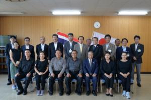 20170823 タイ王国メーサイ市長及び幹部職員,ジャンホム氏送別式