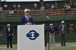 『20170802 北関東中学校野球大会閉会式』の画像