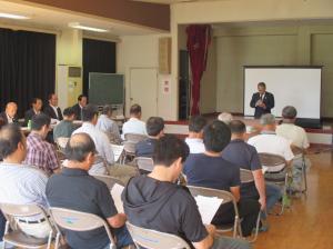 20170924 上山川北部地区土地区画整理組合設立準備会第2回総会