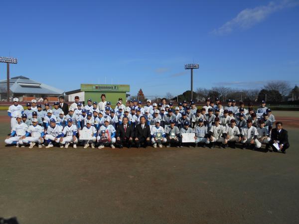 『結城市小山市野球大会』の画像