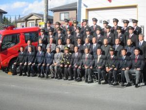 20171119 消防団第5分団自動車記念式典