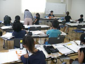 H30 子ども習字教室