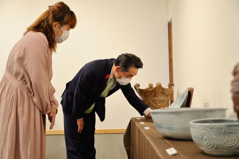 粕谷恵陶芸展5